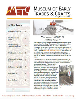 Spring 2020 - METC Newsletter - Thumbnail