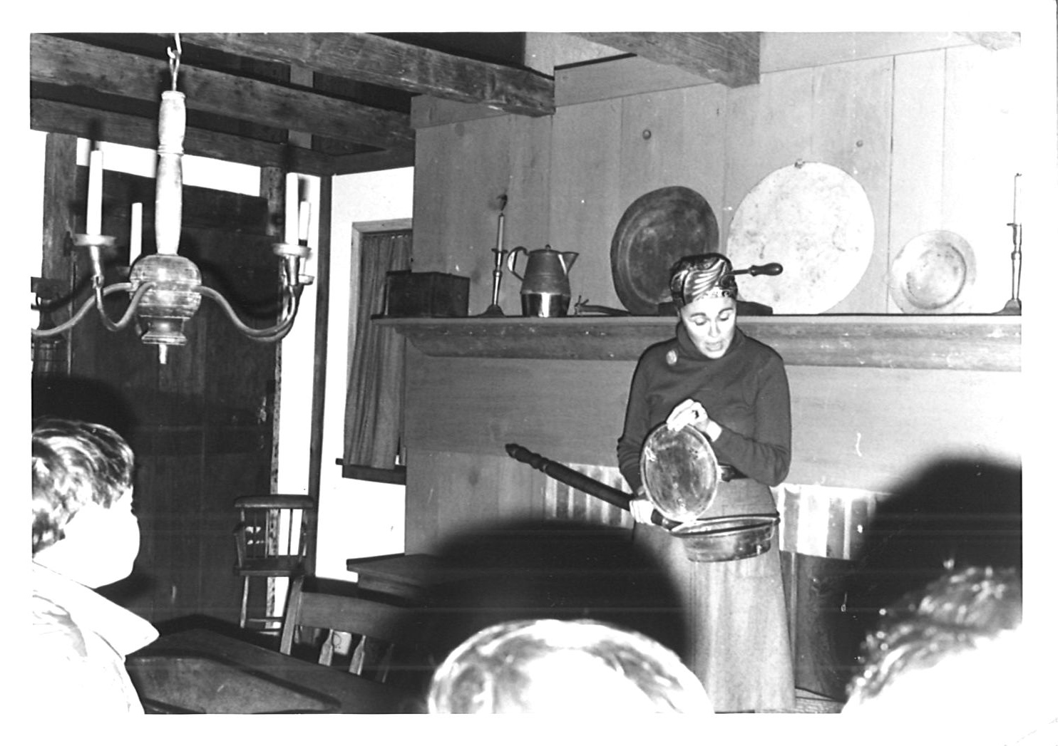 Agnes Land in the Trustee Room c 1970s