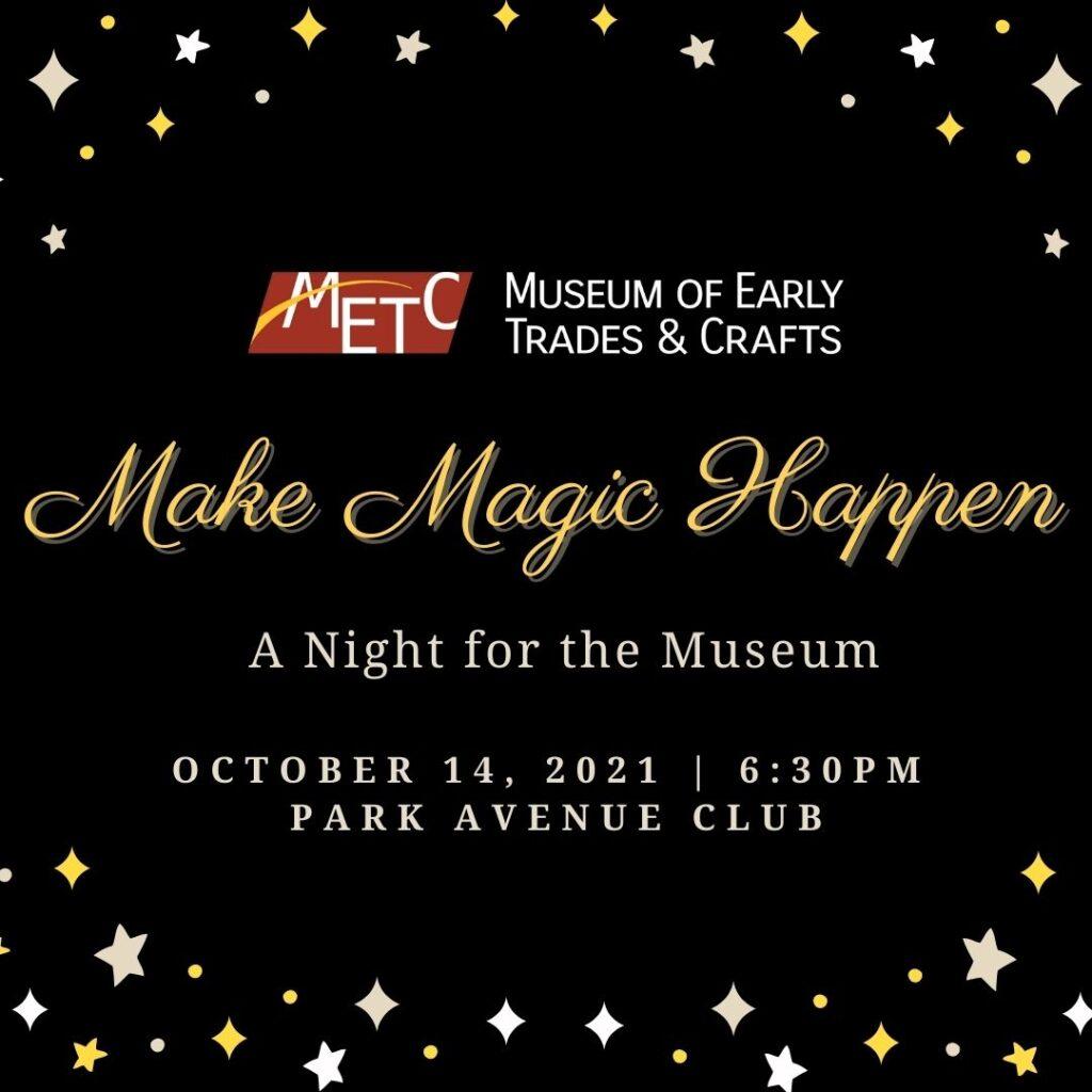 Annual Benefit Dinner: Make Magic Happen
